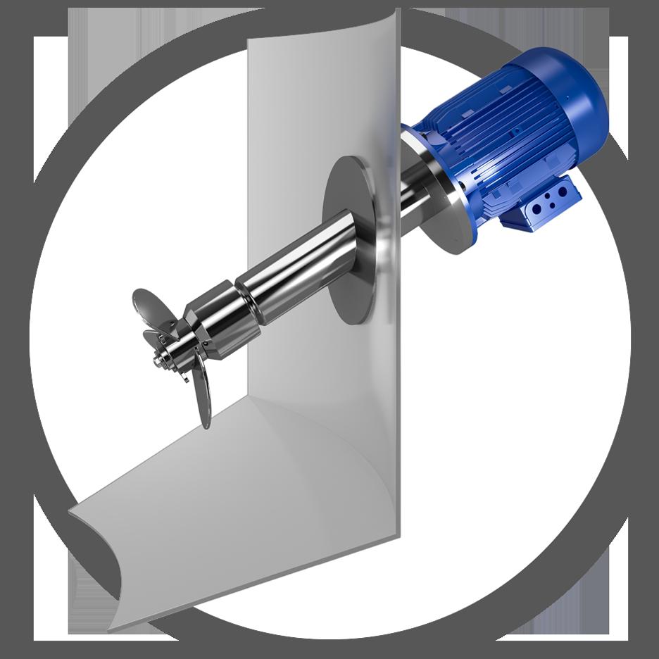 PRG Magnetrührwerk im Einsatz